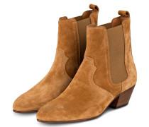 Cowboy Boots - CAMEL