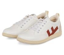 Sneaker ROLAND V.3 - WEISS/ DUNKELROT