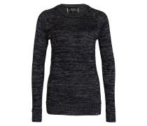 Pullover - silber/ schwarz