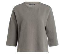 Sweatshirt mit 3/4-Arm - khaki