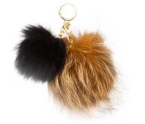 Taschenanhänger - black/ natural