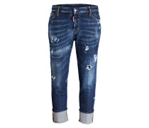 Jeans LONDON TURN UP - blau denim