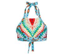 High-Neck-Bikini-Top WILD HEART zum Wenden