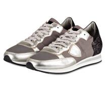 Sneaker TROPEZ - silber/ grau/ champagner