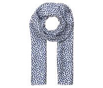Schals aus Seide - blau