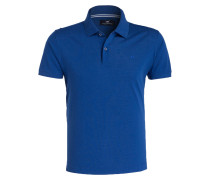Piqué-Poloshirt - royal