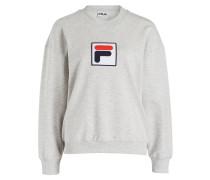 Sweatshirt ERIKA - grau meliert