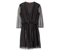 Kleid PRELUDIO mit 3/4-Arm und Paillettenbesatz