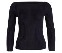 Pullover mit Wollanteil - blau