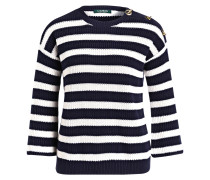 Pullover MAJESKY - marine/ weiss