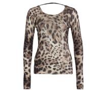 Cashmere-Pullover - braun/ beige/ schwarz