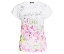 T-Shirt - weiss/ pink/ grün
