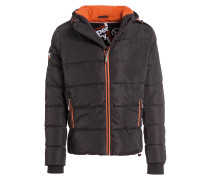 Steppjacke SPORTS PUFFER - schwarz