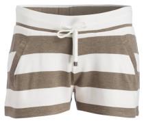Shorts - ecru/ khaki