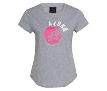 T-Shirt DEBRA mit Mesh-Einsatz
