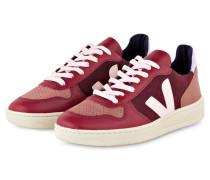 Sneaker V-10 - BORDEAUX