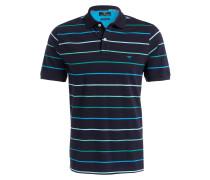 Piqué-Poloshirt Casual-Fit - blau