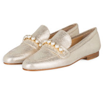Loafer CARLA - silber metallic