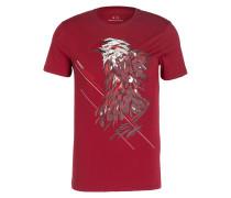 T-Shirt - weinrot
