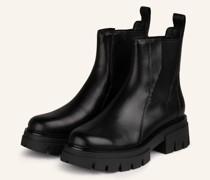Chelsea-Boots LINKS - SCHWARZ