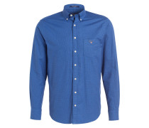 Oxford-Hemd Regular-Fit - blau