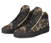 Hightop-Sneaker KRISS - schwarz/khaki