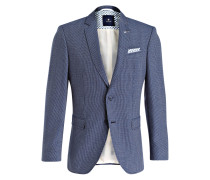 Sakko LUCAS Regular-Fit - blau/ weiss