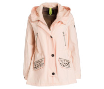 Parka SYLT BLING - rose