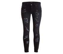 Skinny-Jeans - schwarz