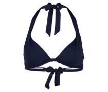 Neckholder-Bikini-Top - navy