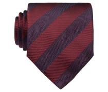 Krawatte - dunkelrot/ blau