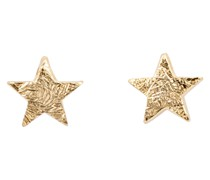 MINI STAR EARRING GOLD PLATED - gold