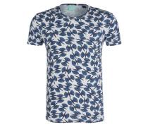 T-Shirt - grau/ blau