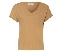 T-Shirt MAYA mit Leinen