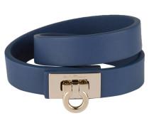 Wickelarmband - blau