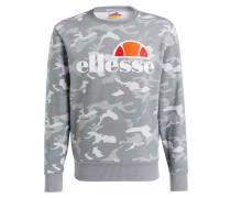 Sweatshirt SUCCISO - grau/ weiss