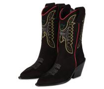 Cowboy Boots ROCKLAND - SCHWARZ