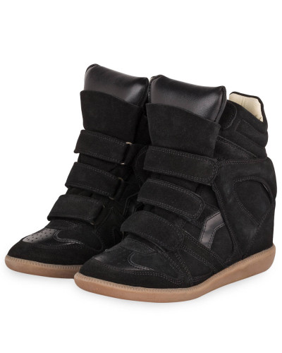 Sneaker-Wedges BEKETT - SCHWARZ