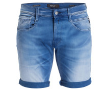 Jeans-Shorts ANBASS - 009 mid blue