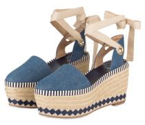 Wedges DANDY - denimblau