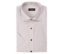 Halbarm-Hemd Comfort-Fit - beige
