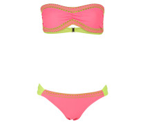 Bandeau-Bikini SWALLOW - pink