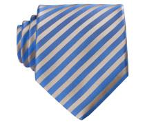 Krawatte - beige/ blau