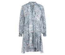 Kleid CLOUDS mit Rüschenbesatz