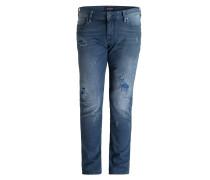Destroyed-Jeans TYE Slim-Fit
