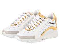 Sneaker 551 - weiss/ gold