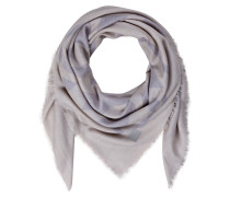 Cashmere-Tuch TAYLOR - natur/ silber