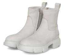 Plateau-Boots - HELLGRAU