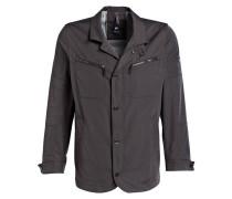 Jacke aus Stretch Concept-Material - grau