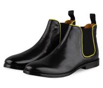 Chelsea-Boots AMELIE - SCHWARZ/ GELB